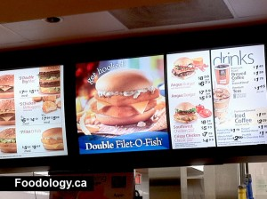 Mcdonald 39 s double filet o fish foodology for Mcdonalds fish fillet price