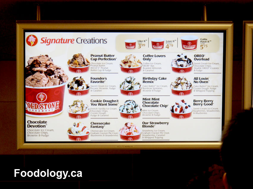 Cold stone creamery invading vancouver foodology one ccuart