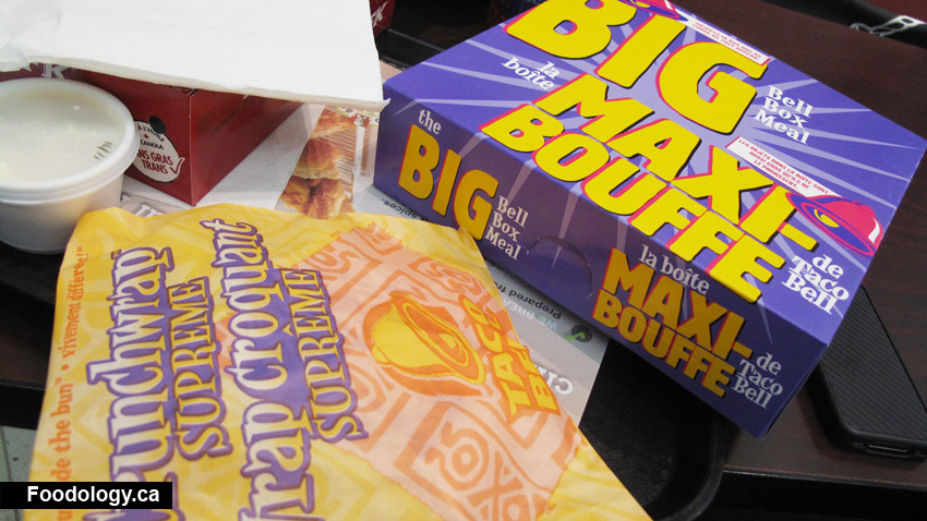 ... Taco Bell to get their other big box meal. My ... & Taco Bell: Big Box Meal Made Me All Tacou0027ed Out | Foodology Aboutintivar.Com