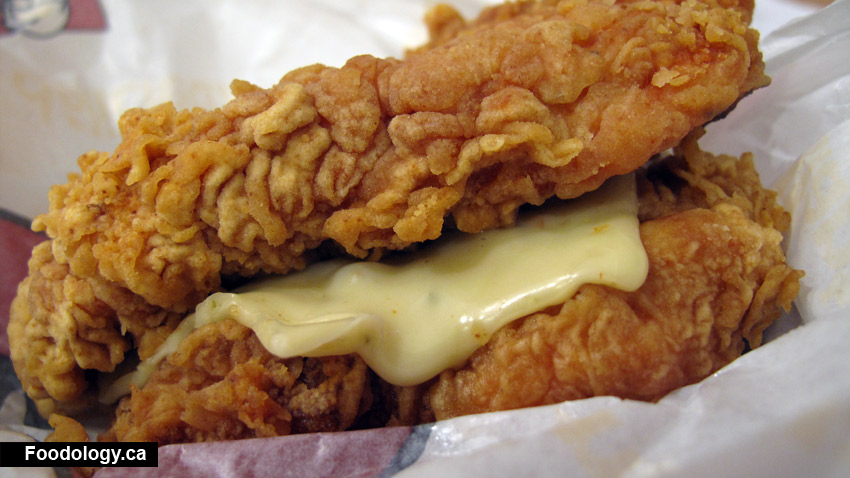 KFC Zinger Double Down Only in CanadaZinger Double Down