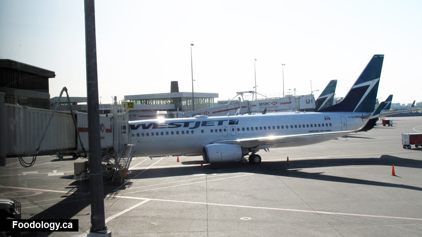 WestJet: Food Options for Flights