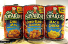 Chef Boyarbee, Spaghettios, and Campbell's GO Soups