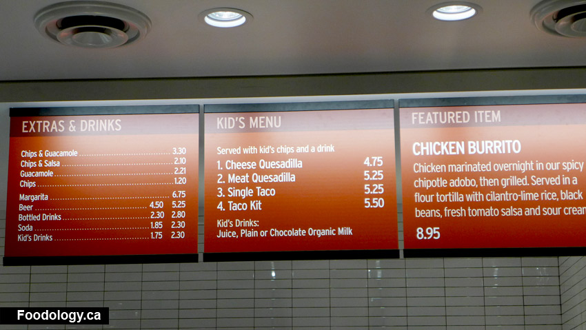 picture regarding Chipotle Printable Menu identify Chipotle Vancouver: Its Ultimately Open up and We Ate Nearly anything