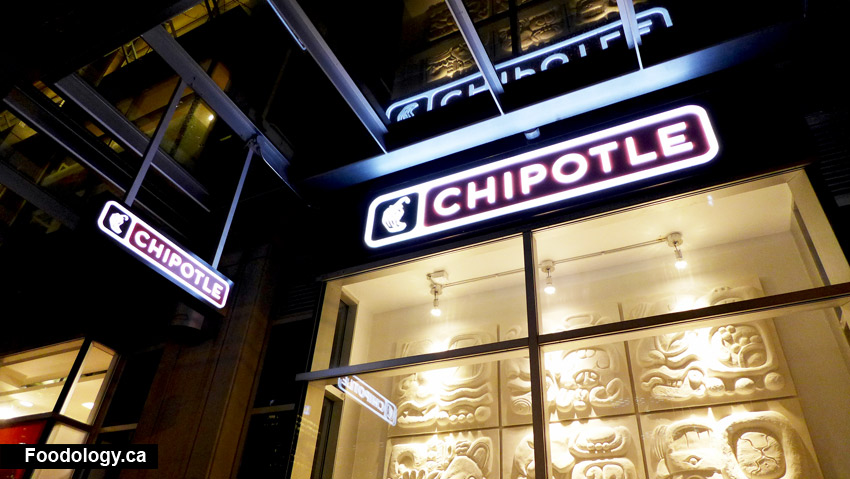 Chipotle Sign Vancouver