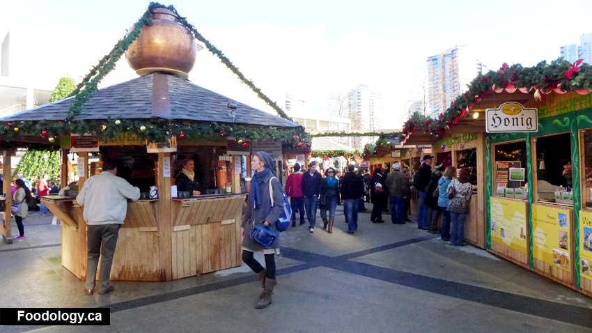 Vancouver Christmas Market 2012 - Foodology