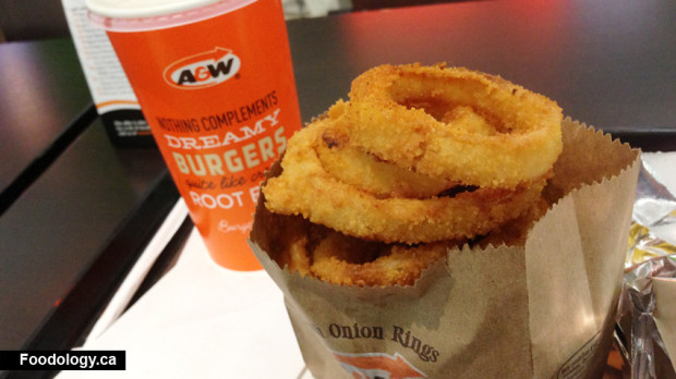 A&W Spicy Chipotle Chubby Chicken Burger