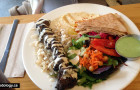 Nuba Yaletown: Najibs Special and Beef Brochette