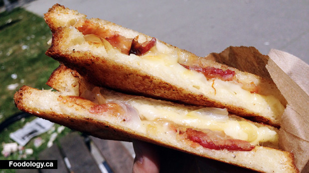 Taser Grilled Cheese Sandwiches