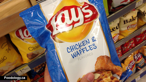 Lays Chicken and Waffles