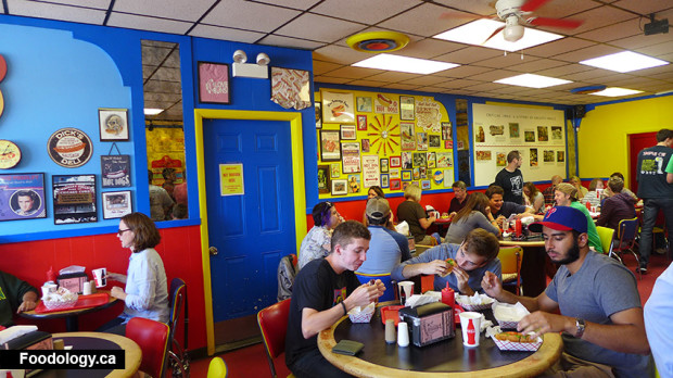 Hot Doug's interior