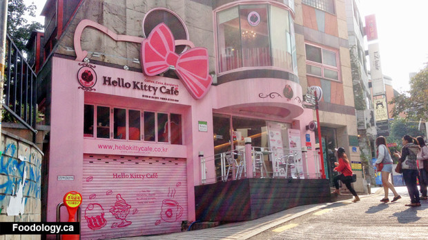 Hello Kitty Cafe In Seoul South Korea Foodology