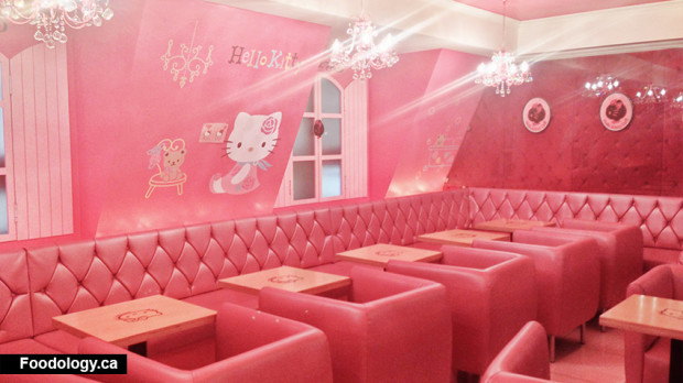 Hello Kitty Cafe Korea