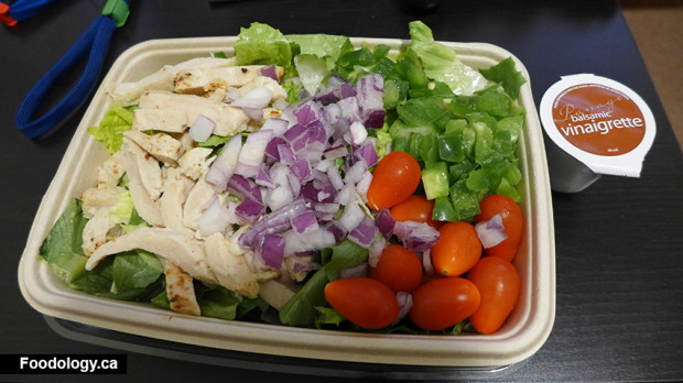 CHICKEN GARDEN SALAD