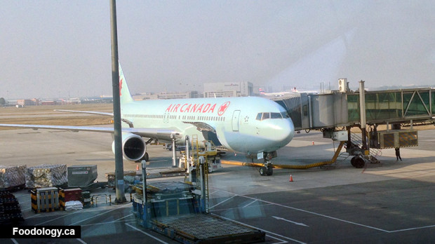 air canada beijing to vancouver
