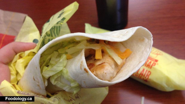 McDonald's Grilled Chicken Spicy Buffalo Snack Wrap