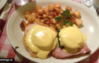 Cafe Zen on Yew: Eggs Benny In Kitsilano
