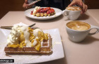 Miracle Belgian Waffle: New Cafe in Coquitlam