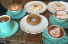 Forty Ninth Parallel Cafe & Lucky's Doughnuts: Hot Chocolate Fest