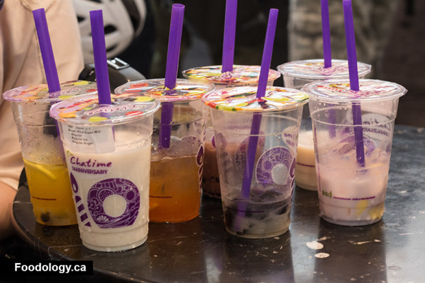 Chatime: Bubble Tea in Downtown Vancouver | Foodology