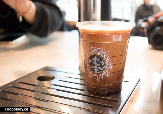 Starbucks Canada Nitro Cold Brew Coffee Foodology