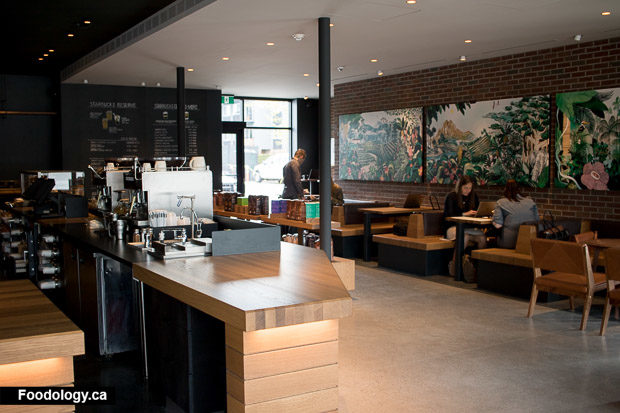 Starbucks Reserve Coffee Bar Now In Vancouver Foodology