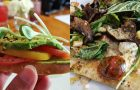 "Rocky Mountain Flatbread : New Summer Menu, Vegan ""Cau"" Cheese, and Fresh Ingredients"