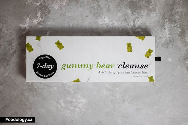 Sugarfina X Pressed Juicery 7 Day Gummy Bear Cleanse Review Foodology