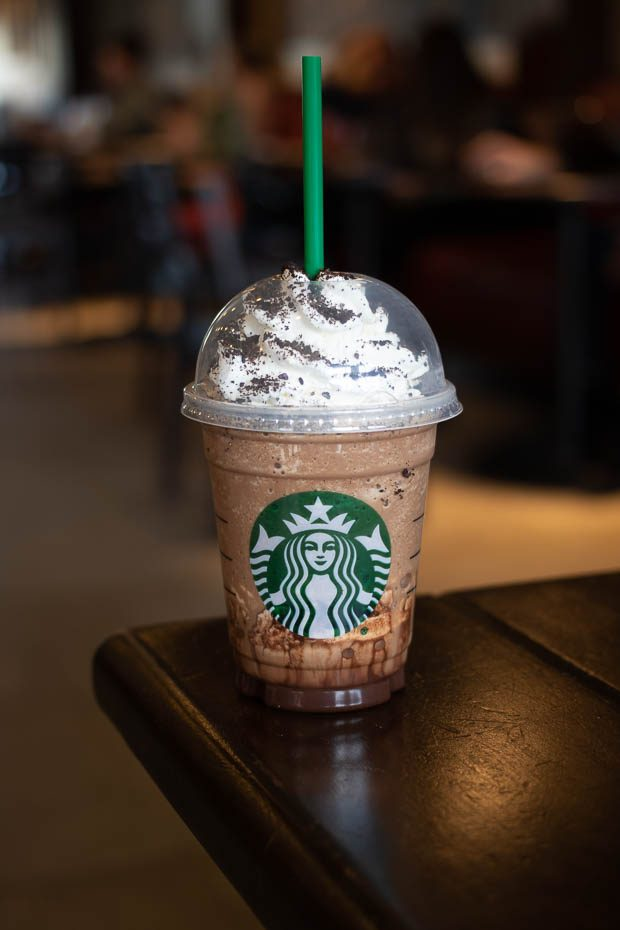 Starbucks Mocha Cookie Crumble Frappuccino Review Foodology