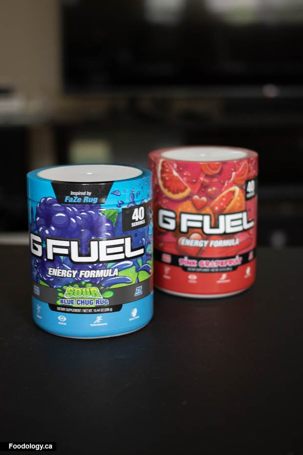 G FUEL Tub: Review | Foodology