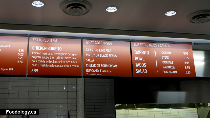 This is a picture of Printable Chipotle Menu intended for june 2018 printable