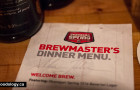 Okanagan Spring Brewmasters Dinner at Mamie Taylor's