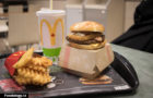 McDonald's: Waffle Fries and Potato Roti & Bacon Burger